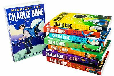 Charlie Bone Series 8 Books Children Collection Paperback Set By Jenny Nimmo -
