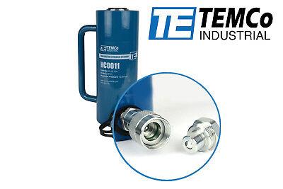 Temco Hc0011 - Hydraulic Cylinder Ram Single Acting 20 Ton 6 Inch Stroke