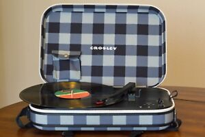 Crosley Messenger Bag Portable Turntable Player New Box