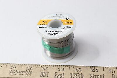 Kester Rosin Wire Solder 44 6040 Stand .031 Diameter 1lb Spool 24-6040-0027