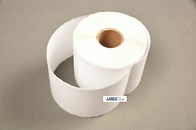 3 Rolls White Paper 99019 Dymo Duo Compatible Postage Labels - 2-516 X 7-12