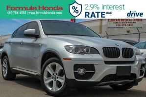 2012 BMW X6 xDrive35i Sunroof, Heated 1st & 2nd Row Seats, Ba...