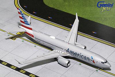 GEMINI200 American Boeing 737 MAX 8 G2AAL704 1/200 REG# LN-MAX. New