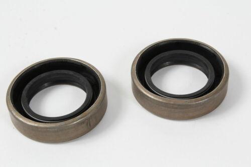 2 Tine Shaft Oil Seals Troy Bilt Horse Rototiller Tiller 9618 GW-9618 GW-9618099