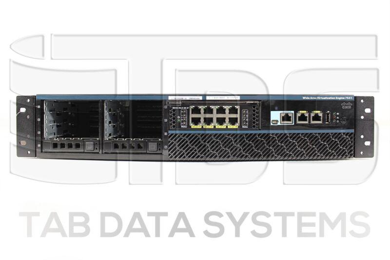 Cisco 7541 Wide Area Virtualization Engine No Hdds Wave-7541-k9