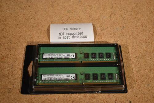 Hynix HMA41GU7AFR8N-TF 16GB (2x 8GB) PC4-2133P DDR4 ECC Unbuffered Server Memory
