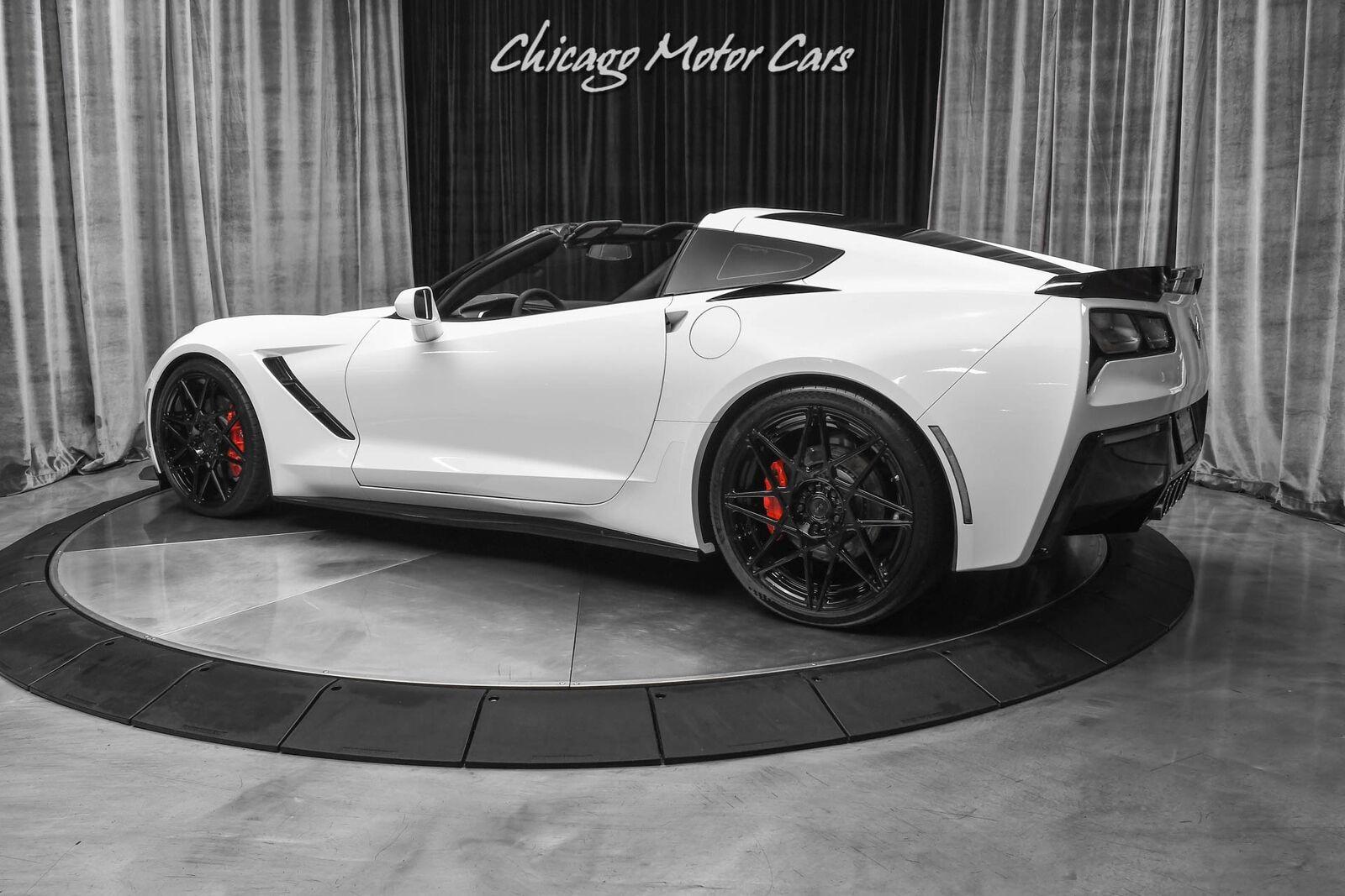 2016 White Chevrolet Corvette Stingray    C7 Corvette Photo 3