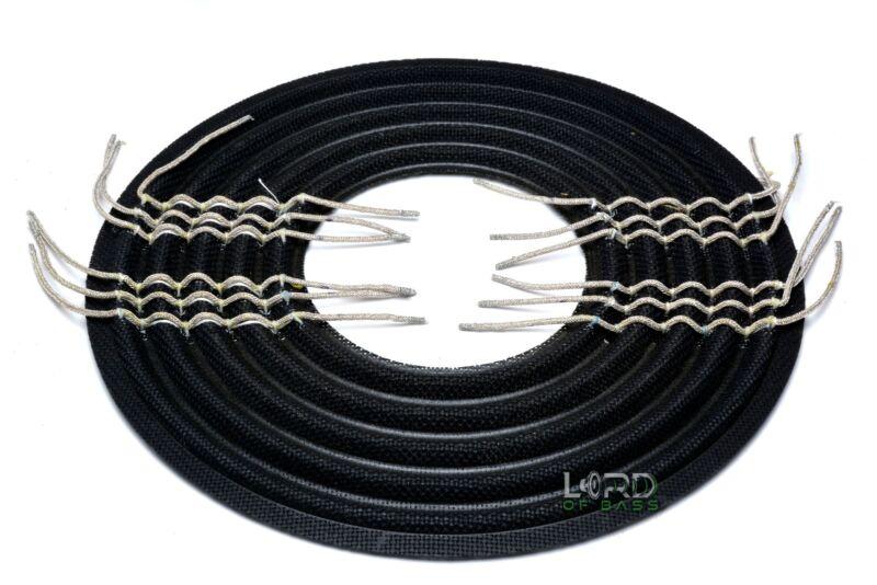 "10"" x 4"" Subwoofer / Speaker spider / damper with triple leads   XHDZ046-4"