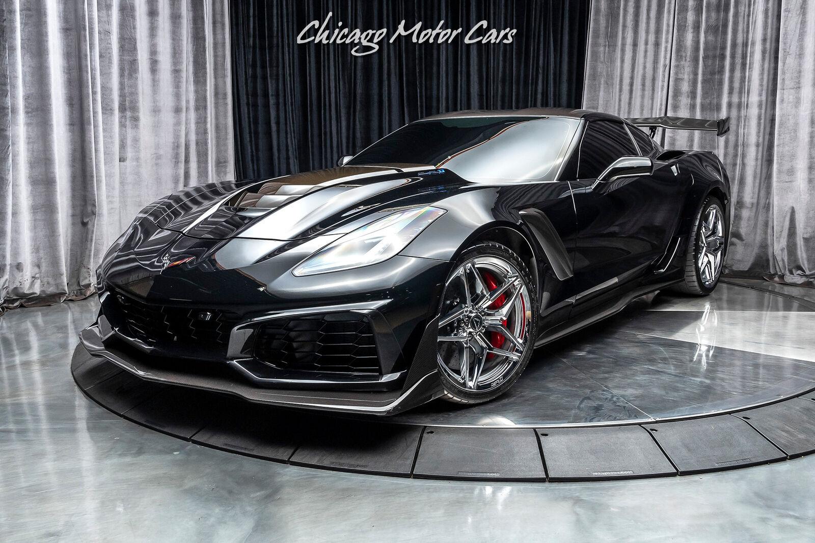 2019 Black Chevrolet Corvette ZR1  | C7 Corvette Photo 2