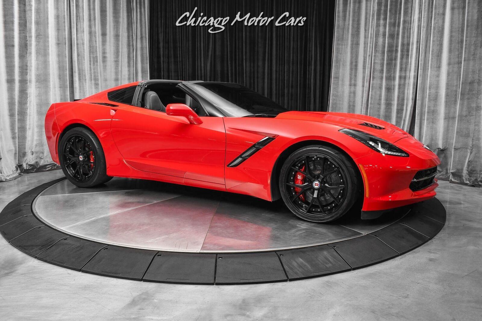 2014 Red Chevrolet Corvette Stingray 2LT | C7 Corvette Photo 6
