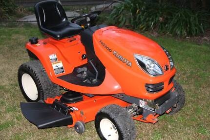 Kubota GR2100 diesel 4wd ride on lawn mower 48in deck low hours Penrith Penrith Area Preview