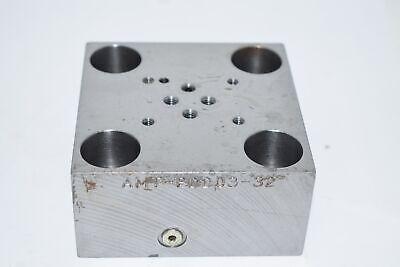 ALMO AMT-PDD03-32 Poppet Valve Cartridge Manifold