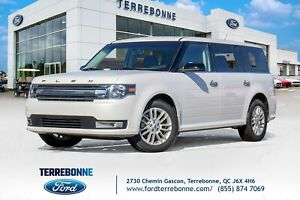 2018 Ford Flex SEL cuir toit navigation 7 passager