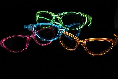El Wire Bulk (10 EL WIRE NEON LIGHT UP POKER SUNGLASS GLASSES)
