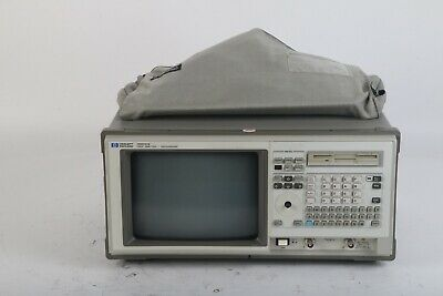 Hp Agilent 1661cs Logic Analyzer Oscilloscope W Opt. 015 2x Pod Cables