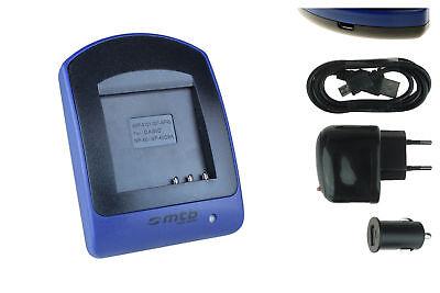 Akku-Ladegerät (USB) NP-40 für Casio Exilim EX-Z650, Z700, Z750, Z850, Z1000 Z700 Usb