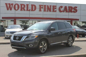 2014 Nissan Pathfinder Platinum Premium | Accident Free | One Ow