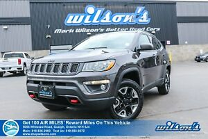2018 Jeep Compass Trailhawk 4x4 - Leather Trim, Navigation, Heat
