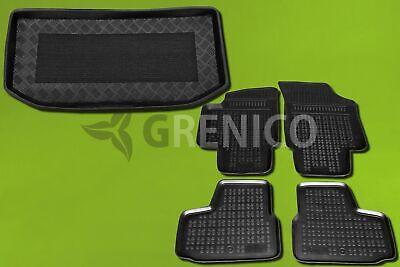Gummi-Fußmatten Kofferraumwanne unterer Ladeboden SKODA CITIGO ab 2012