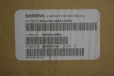 Siemens Simodrive Line Filter 6sl3000-0fe23-6ba0