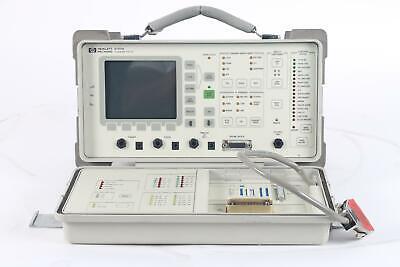 Hp 37711a T1datacom Test Set Test Equipment Option 001