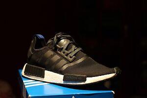 Adidas NMD Black R1 Black and white  US9.5 Melbourne CBD Melbourne City Preview