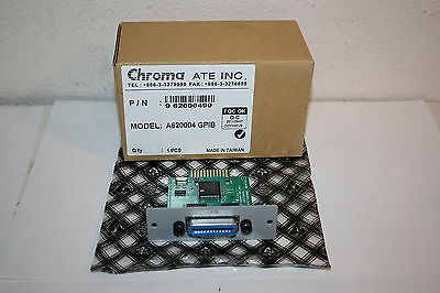 Chroma A620004 Gpib Interface Card For 62000p Series Dc Power Supplies 962000499