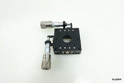 Toptek Used Msxy-60l -7.5mm Xy Manual Positioner Micrometer Sta-i-2395f41