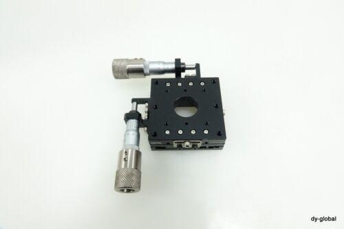 TOPTEK Used MSXY-60L +/-7.5mm XY Manual positioner micrometer STA-I-239=5F41