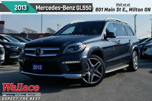 2013 Mercedes-Benz GL-Class 550 4MATIC/HTD CLD MASG STS/NAV/21s/