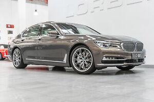 2017 BMW 740i G11 Individual Champagne Quartz Metallic 8 Speed Automatic Sedan