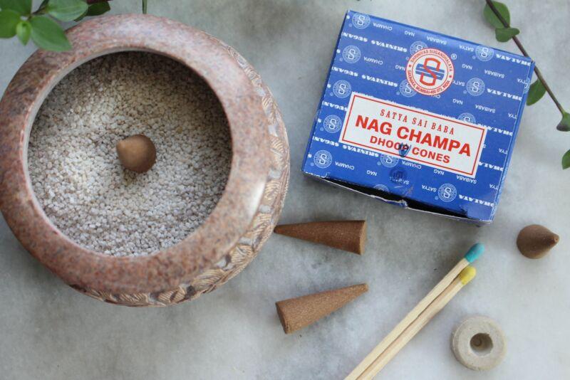 Satya Nag Champa Dhoop Cone Incense