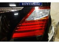 3M Adhesive Chrome Rear Tail Light Trim Bezel Cover LEXUS LS460 LS600h 2010-2012