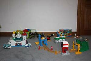 Fisher Price Geotrax Bundle with Lego and figurines plus others Newton Campbelltown Area Preview