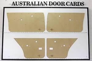 Holden TORANA LH, LX, UC. SL SLR 5000. New Laser Cut DOOR CARDS Q Wangaratta Wangaratta Area Preview