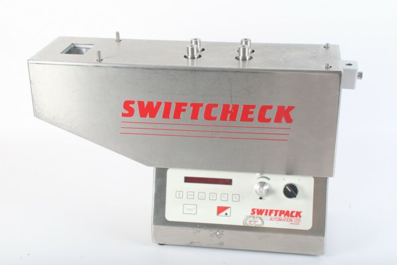 Swiftpack Automation S:Check Tablet Capsule Counter AS IS