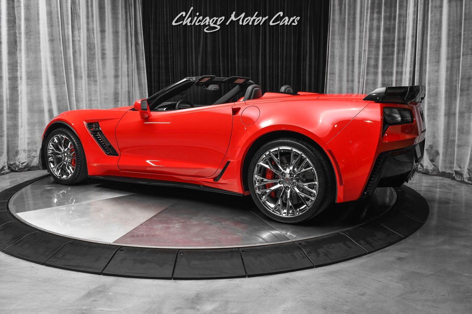 2015 Red Chevrolet Corvette Z06 2LZ | C7 Corvette Photo 3