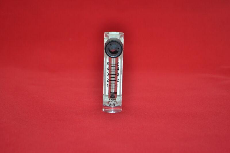 LZQ-3 height 90MM flowmeter 0-5 LPM flow meter  for Oxygen /air/gas