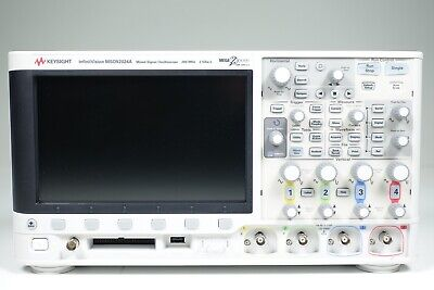 Keysight Used Msox2024a Oscilloscope Mixed Signal4channel200mhz W.accessories