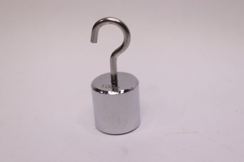 Troemner Hook Weight ASTM Class 7 Stainless Steel 100 Grams 50100S