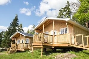 Cabins for rent on  North Lake