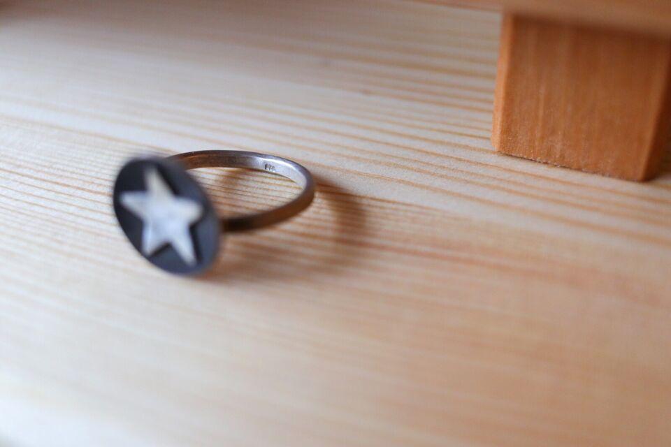 Ring recyceltes Silber größenverstellbar NEU Handarbeit in Vörstetten
