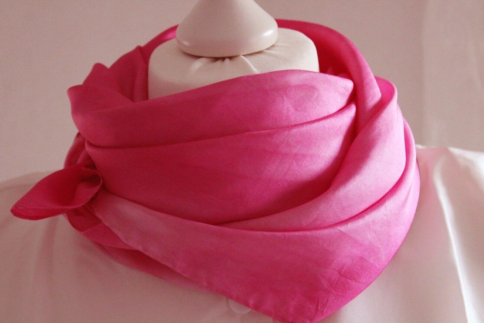 Seidentuch pink Batic oder Seidenschal in 4 Größen Handarbeit Geschenk Frauen