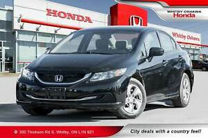 2015 Honda Civic LX | Heated Seats, Rearview Camera, Bluetooth