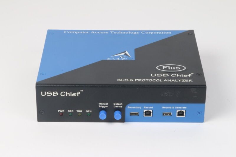 CATC LeCroy USB Chief Plus Analyzer and Generator - U-CHF-A128