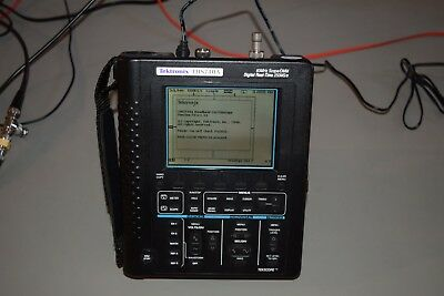 Tektronix Ths 710a 60mhz 200mss Handheld Digital Oscilloscope Multimeter