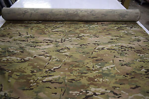 MULTICAM 4WAY POLY STRETCH MOISTURE WICKING CAMO FABRIC 56W MILITARY CAMOUFLAGE