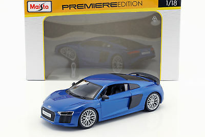 Audi R8 V10 plus Year 2015 Blue 1:18 for sale  Shipping to United States