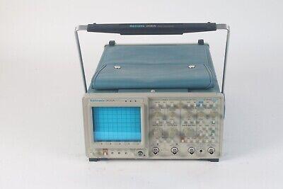 Tektronix 2430a 2-channel 150 Mhz Digital Oscilloscope W Power Cable