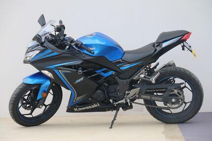 2015 Kawasaki Ninja 300 ABS SE- Blue/Black